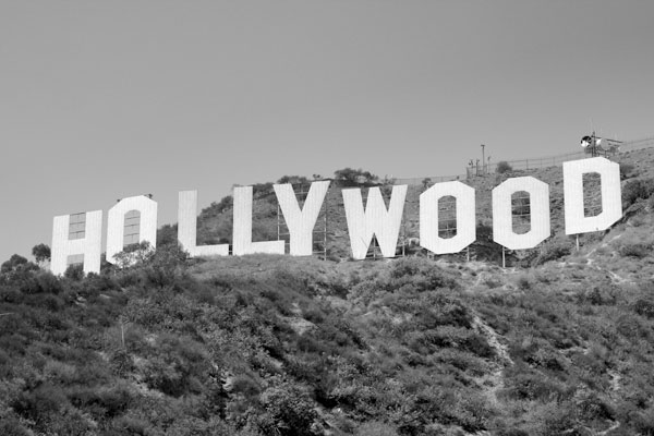 Hollywood Schriftzug in Hollywood Los Angeles